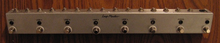 (B) 6 Looper w/Tuner Out & Master Bypass (Strip)